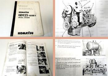 Werkstatthandbuch Komatsu D65E-1 D65P-8 ...Shop Manual diesel en