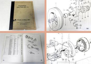 Ersatzteilkatalog Volvo Penta MD 1B Parts Catalogue 1981