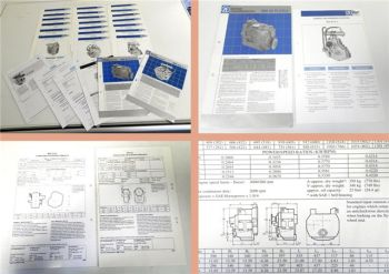 22 Prospekte ZF Marine Transmission Systems technical data 1995