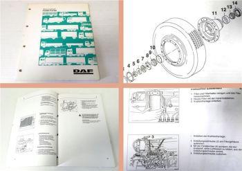 Werkstatthandbuch DAF F2300 F2700 LKW Wartunganleitung 1990