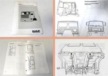 Werkstatthandbuch DAF Prewax ML-Behandlung von Fahrerhäusern Sch