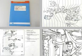 Reparaturleitfaden VW Corrado Heizung Klimaanalage Werkstatthandbuch ab 1989