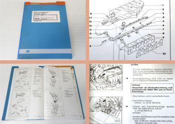 VW Corrado 53i VR6 2,9 Werkstatthandbuch Motronic Einspritzanlage Zündanlage ABV