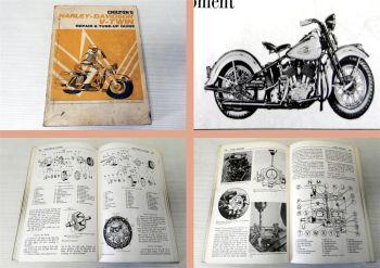 Werkstatthandbuch Harley Davidson V-Twins 1959-72 Repair and tun