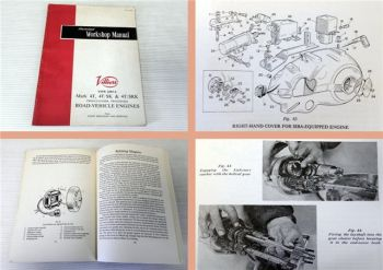 Villiers Type 225T-2 Mark 4T 4T/SK 4T/SRK engine workshop manual