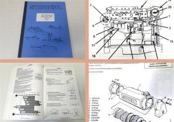 Betriebsanleitung Scania DN11 DS11 DSI11 Schiffsmotor Wartung 19
