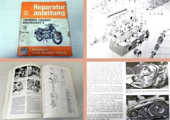 Werkstatthandbuch Triumph Trident BSA Rocket 3 ab 1969 Reparatur