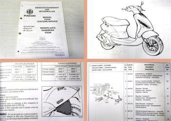 Werkstatthandbuch Piaggio Zip Catalyzed Reparaturanleitung Ergänzung 2000