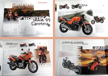 Honda Carretera 1999 CB500 CB750 VF750C VFR800FI CBR1000R ....Pr