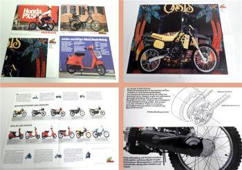Honda Melody, Camino C ... Roller Mokick Mofa 4 Prospekte
