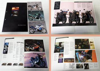 Triumph Motorrad Prospekt 1990 inkl. 3 Postkarten