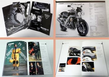 Triumph Motorrad Bekleidung Accessories Preisliste 5 Prospekte