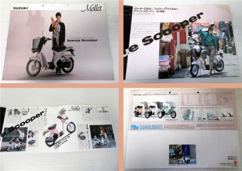 Suzuki Mollet Avenue Scooper Prospekt ca 1980
