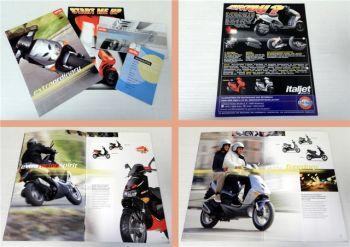 Aprilia Roller Scooter 4 Prospekte ca 1999-2001