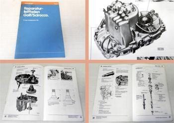 Reparaturleitfaden VW Golf 1 Scirocco 4Gang Schaltgetriebe 084 Werkstatthandbuch