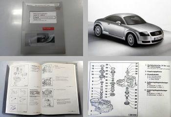 Reparaturleitfaden Audi TT 8N 5 Gang Schaltgetriebe 02J (DZF) ab 1999