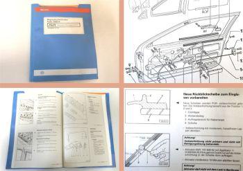 Reparaturleitfaden VW Polo II Typ 86C 2F Karosserie Montagearbeiten 1982 - 1993