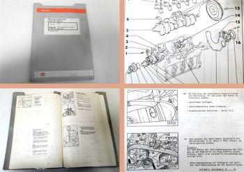 Reparaturleitfaden Audi 80 B4 Werkstatthandbuch 1,9l TDI Turbo Motor AAZ