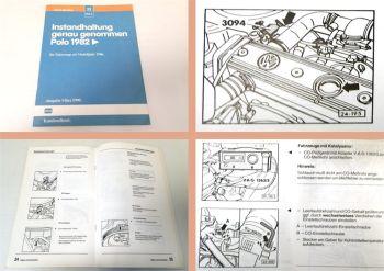 Reparaturleitfaden VW Polo 2 86C 1986 - 1990 Instandhaltung Wartung
