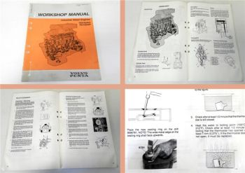 Workshop Manual Volvo Penta TID162AG TID162AP Industrial Diesel engine 1988