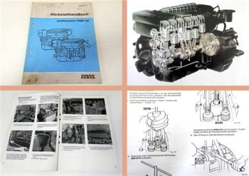 Werkstatthandbuch Volvo Penta TAMD162 Schiffsmotor Reparatur 1991