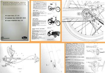 Werkstatthandbuch Piaggio Vespa Ciao C7 - C9 Porter CT Boxer Reparaturanleitung