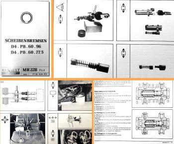 Reparaturanleitung Renault 7811 - 7822 7921 - 7942  Werkstatthan