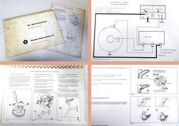 Werkstatthandbuch Chrysler Simca Matra ...Werkstattelektrik Kundendienstschulung