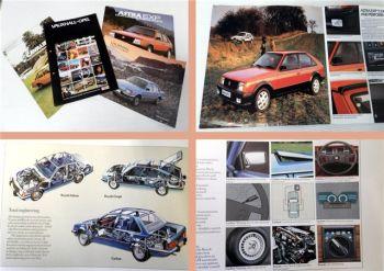 Opel Vauxhall Astra Carlton Cavalier Prospekt 4x 1977/82