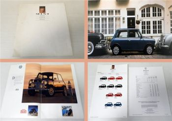 Mini Cooper Mayfair Special Prospekt 1992