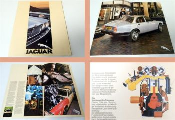 Jaguar XJ, XJS HE 1981 Prospekt