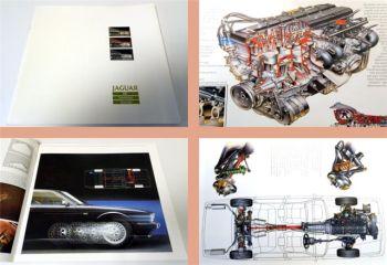 Jaguar XJ6 Sovereign Daimler Prospekt 1988