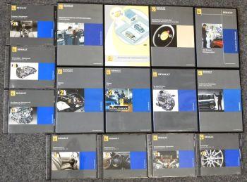 Renault Werkstatt Kundendienst Schulungs Fortbildungs CDs