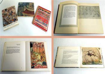 3 Artia Bildbände / Forman: Miniaturen Indien, Persien, Mongolei