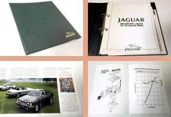 Jaguar Salon De L Auto 13.-23. Janvier 1984 ... XJSC XJS 3.6 AJ6