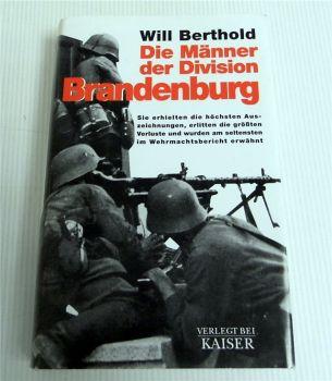 Männer der Division Brandenburg Roman von Will Berthold 1977