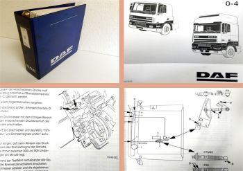 Reparaturanleitung DAF F65 F75 F85 LKW Werkstatthandbuch Nachtra