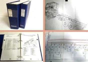 Werkstatthandbuch DAF F95 LKW Schaltpläne Elektrik 1987-92