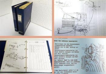 DAF LKW Truck Service Mitteilungen Werkstatthandbuch & Spezialwe