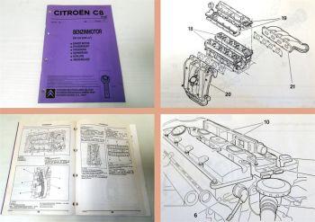 Werkstatthandbuch Citroen C8 EW12J4 Benzin Motor 3FZ Reparaturanleitung 2002