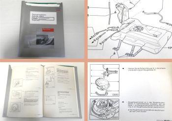 Reparaturleitfaden Audi A6 S6 C5 V6 V8 Kraftstoffversorgung Werkstatthandbuch