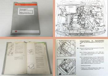 Reparaturleitfaden Audi 80 B4 92 1,6 l Motor ADA 74 kW MPI Einspritzanlage