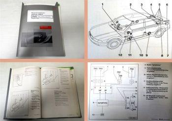 Reparaturleitfaden Audi A4 B5 Radio Telefon Navi Werkstatthandbuch 1999