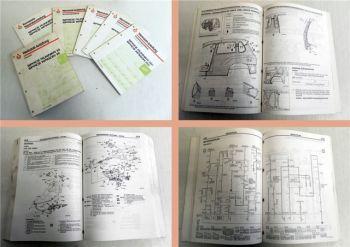 Werkstatthandbuch Mitsubishi Space Runner Wagon 1999 - 2001 in 6 Bänden