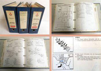 Werkstatthandbuch Mitsubishi Galant, Galant Hatchback 1993-94 Re