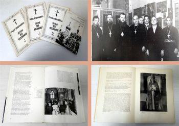 4x Russische Orthodoxen Kirche 1978, Stimme der Orthodoxie 1961/