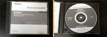 orig. Werkstatthandbuch Nissan Pathfinder R50 Reparaturanleitung CD 2002 Ergänz.