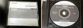 orig. Werkstatthandbuch Nissan Terrano R20 Reparaturanleitung CD 2002
