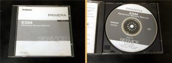 orig. Werkstatthandbuch Nissan Primera P12 Reparaturanleitung CD 2002
