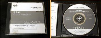 orig. Werkstatthandbuch Nissan Primera P12 + Euro IV Reparatur CD 2001 - 2005